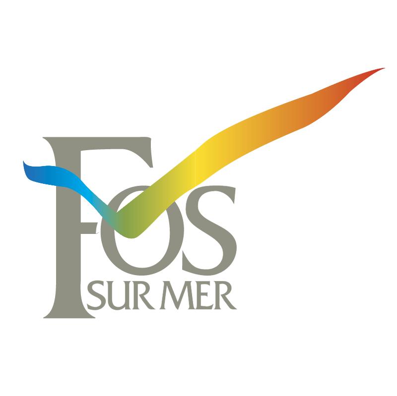 Ville de FosSurMer vector