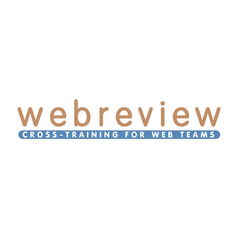 Webreview vector