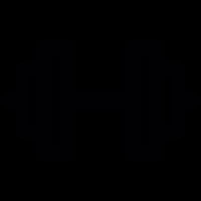 Double Dumbbell vector logo