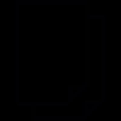 Document double, IOS 7 interface symbol vector logo