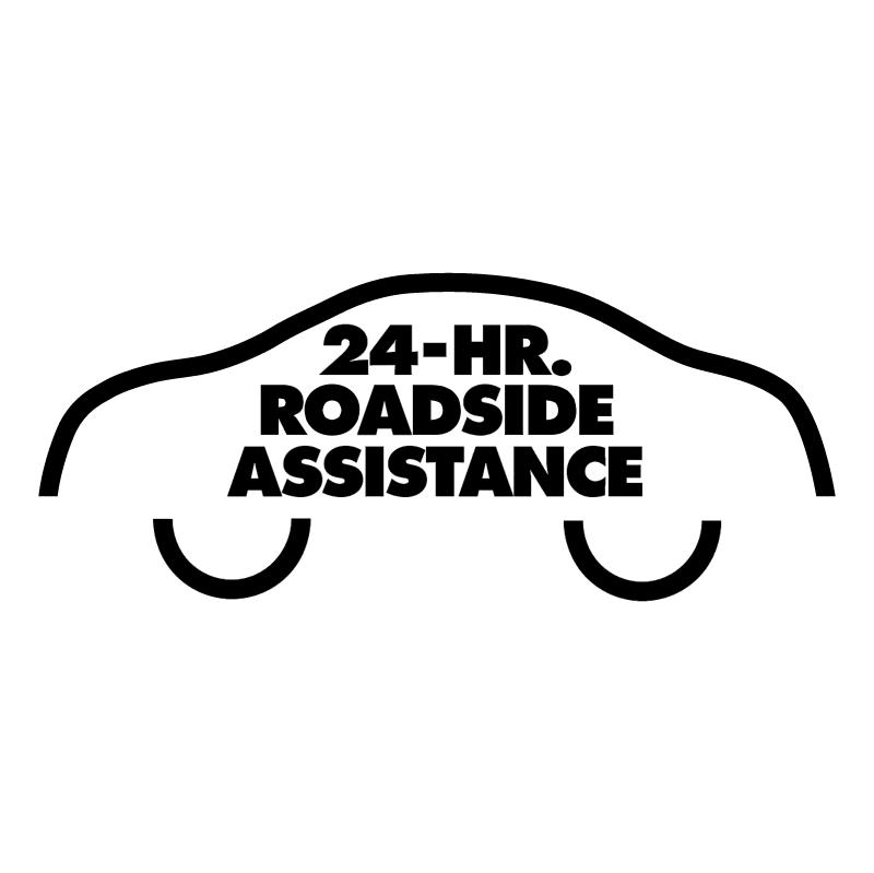 24 Hr Roadside Assistance vector logo