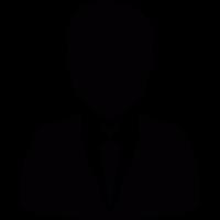 Man in suit and tie vector