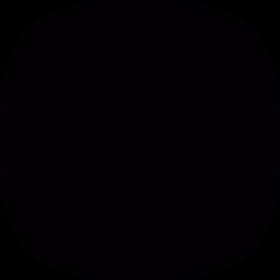 Black screen vector logo