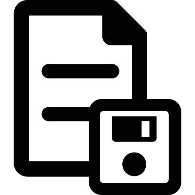 Saving Documents vector logo