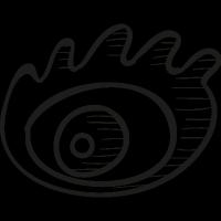 Weibo logo vector