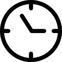 Clock needles vector