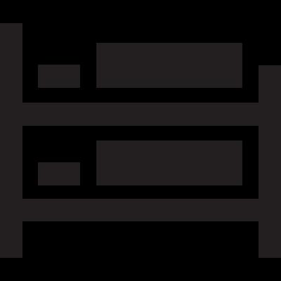 Berth Bed vector logo