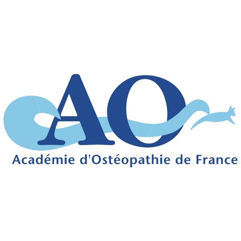 Academie Osteopathie de France vector
