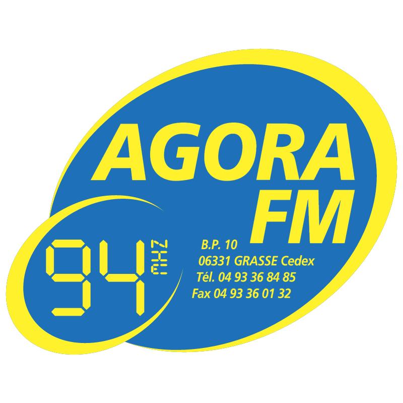 Agora Radio 14875 vector