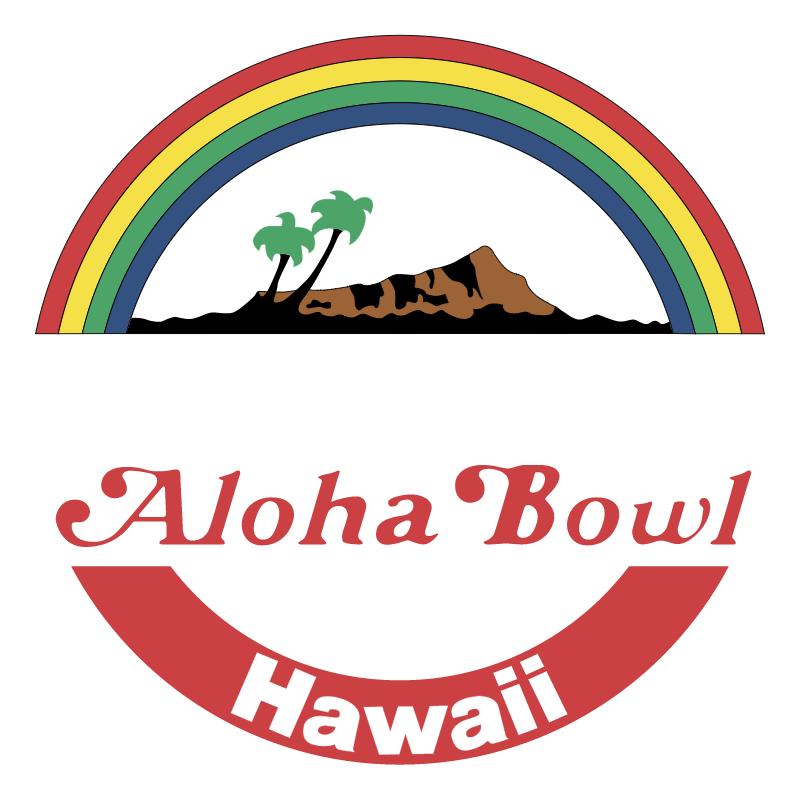 Aloha Bowl 73921 vector