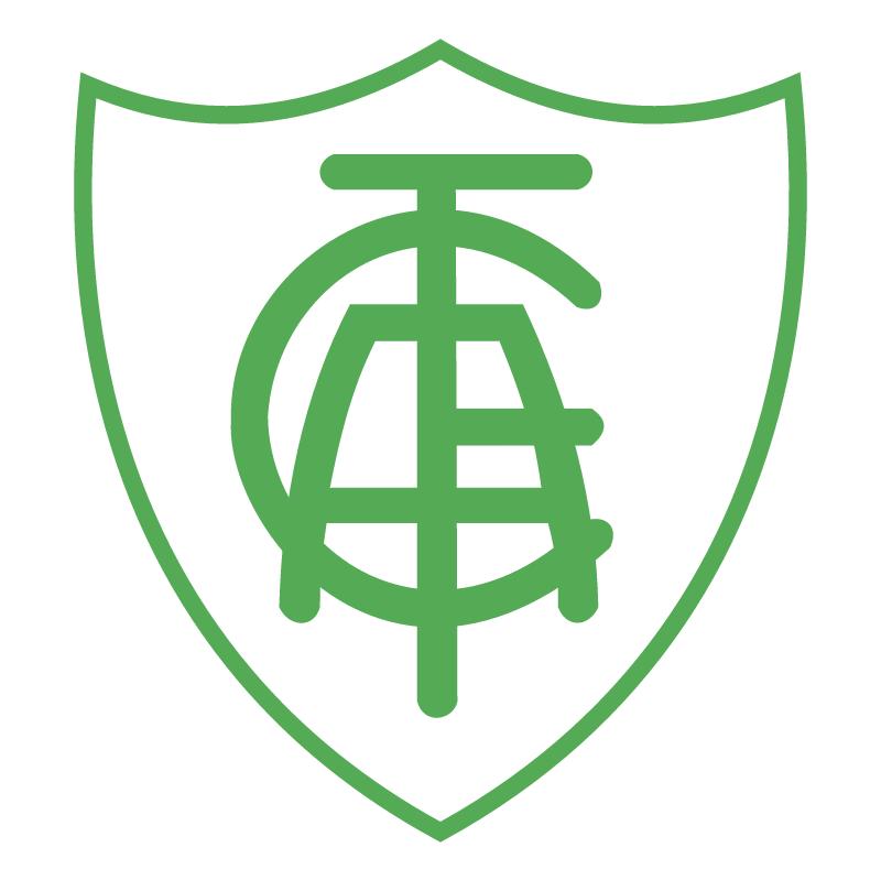 America Futebol Clube de Belo Horizonte MG 80414 vector