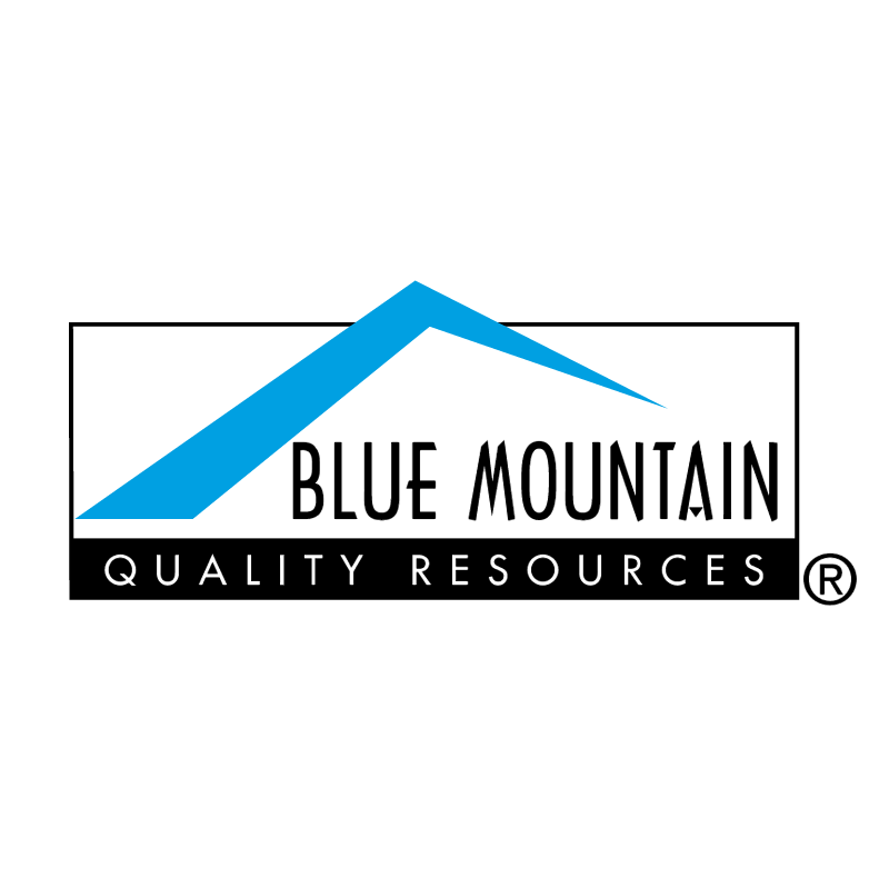 Blue Mountain vector