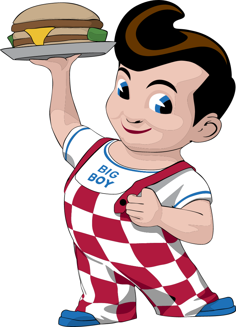 Bob s Big Boy vector
