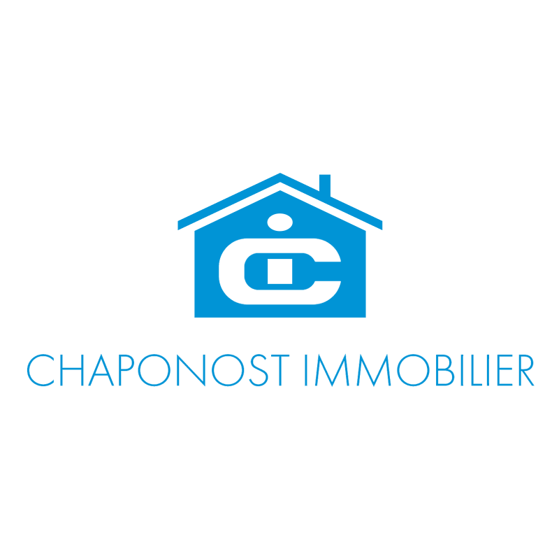Chaponost Immobilier vector logo