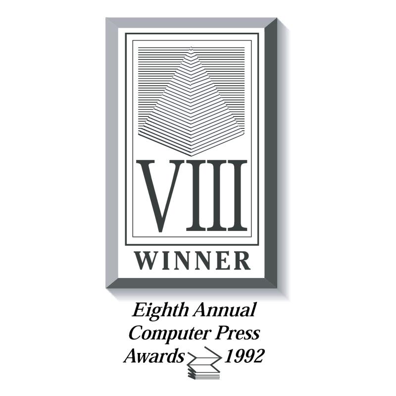 Computer Press Awards vector