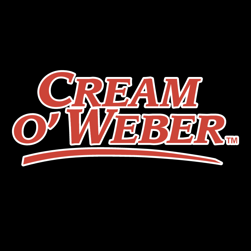 Cream O'Weber vector