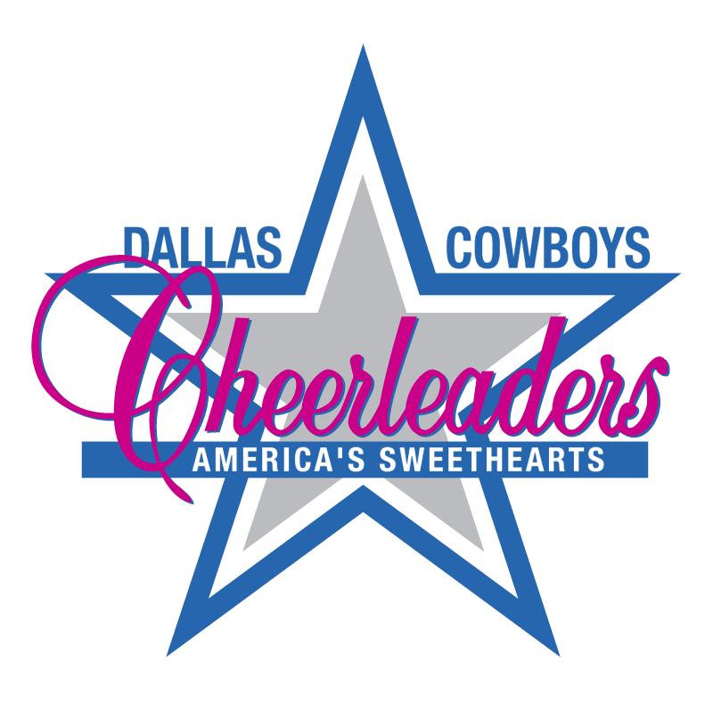 Dallas Cowboys Cheerleaders vector