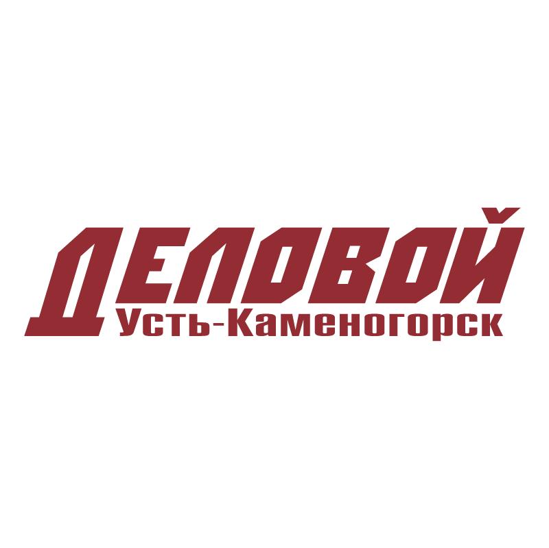 Delovoy Ust Kamenogorsk vector