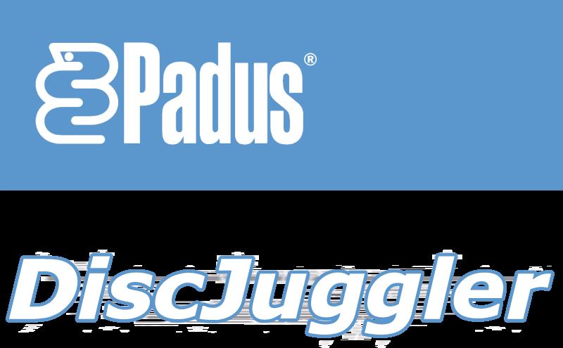 DiscJuggler vector logo