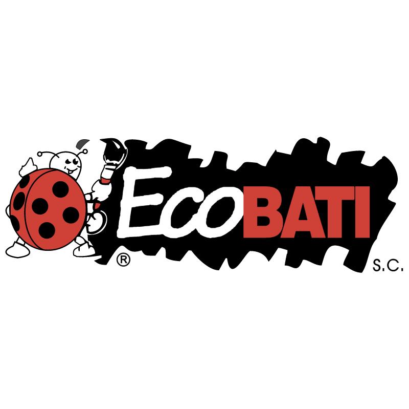 Ecobati vector logo
