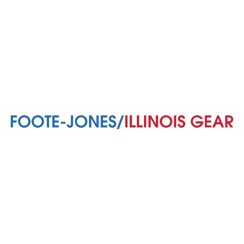 Foote Jones Illinois Gear vector logo