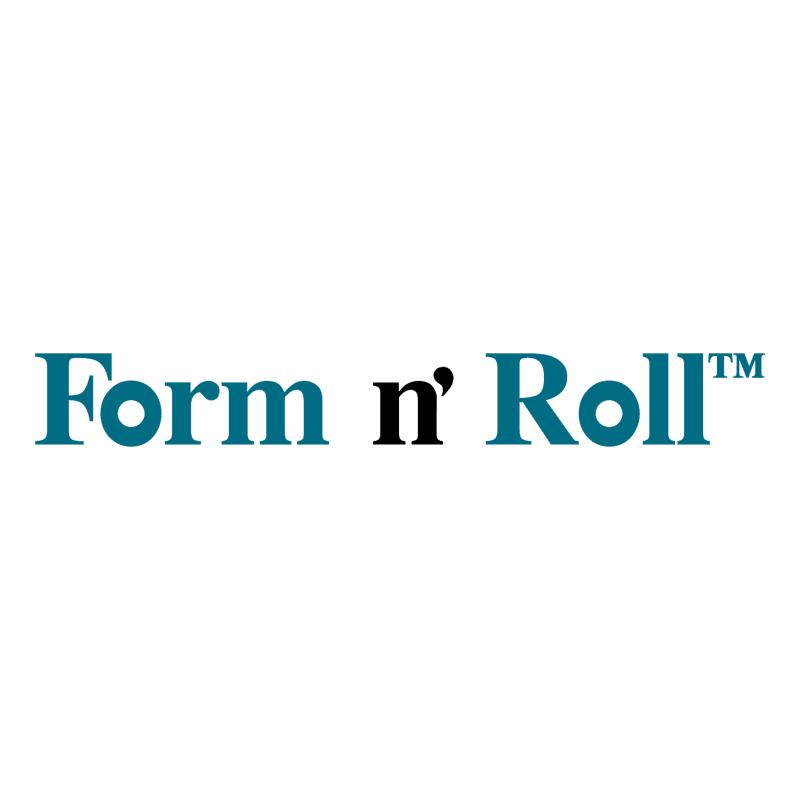 Form n' Roll vector