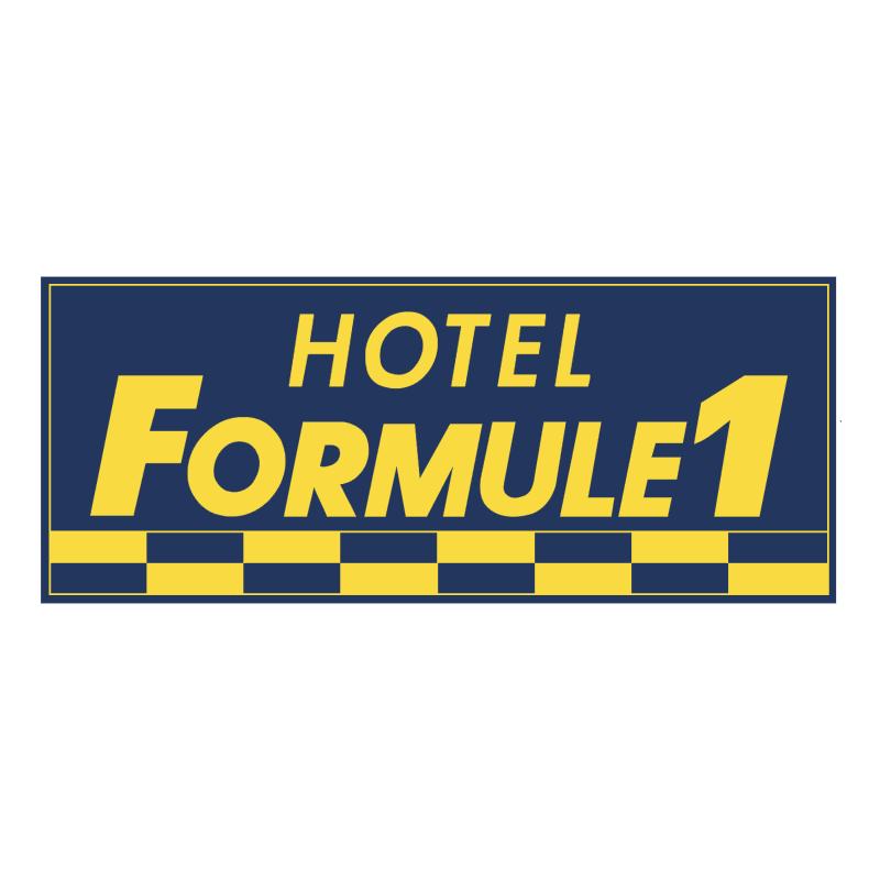 Formule 1 Hotel vector