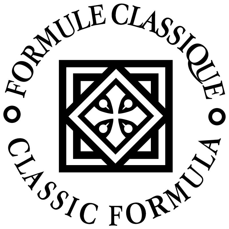 Formule Classique vector