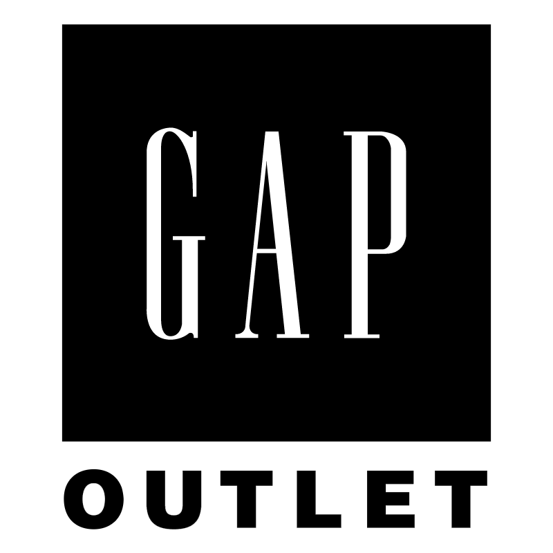 Gap Outlet vector