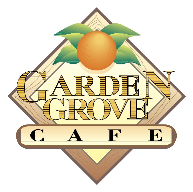 Garden Grove Cafe vector logo