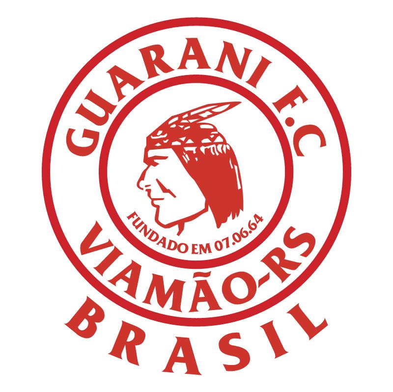 Guarani Futebol Clube de Viamao RS vector logo