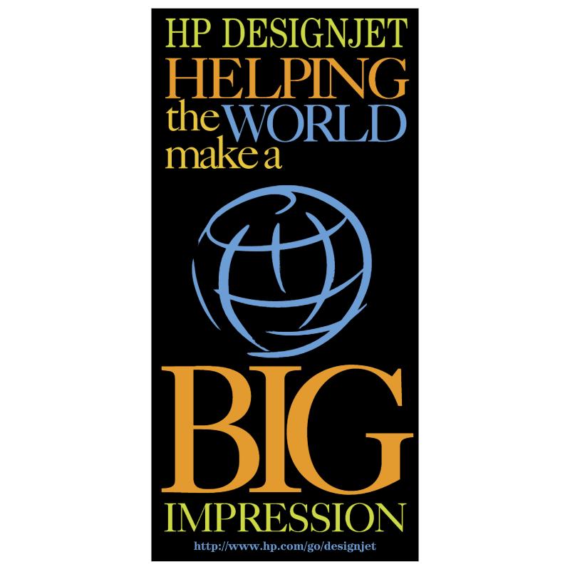 HP DesignJet vector logo