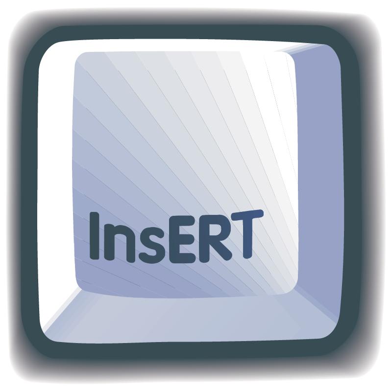 InsERT vector logo