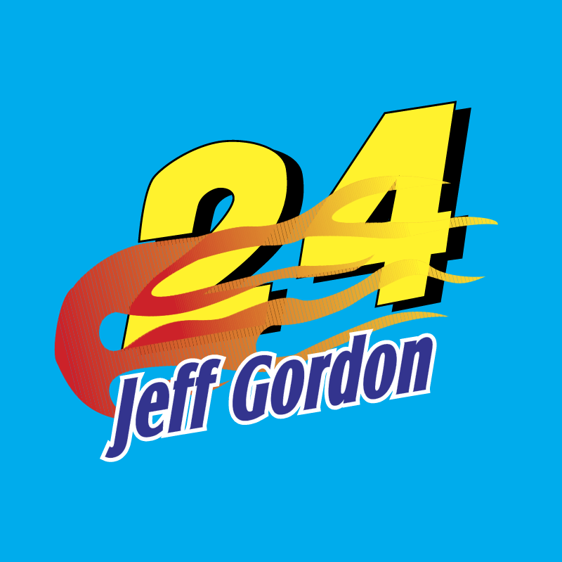 Jeff Gordon vector