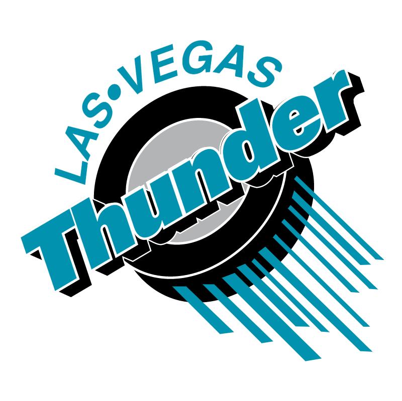 Las Vegas Thunder vector