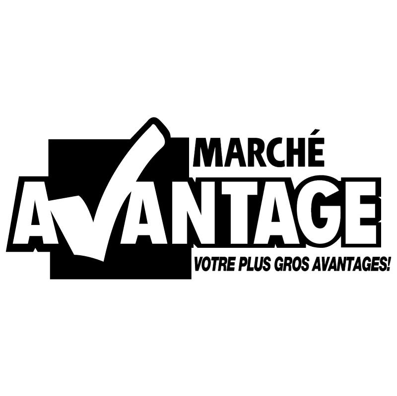 Marche Avantage vector
