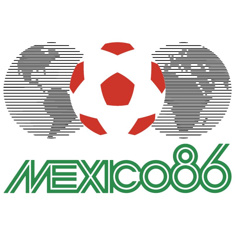 Mexico 1986 vector