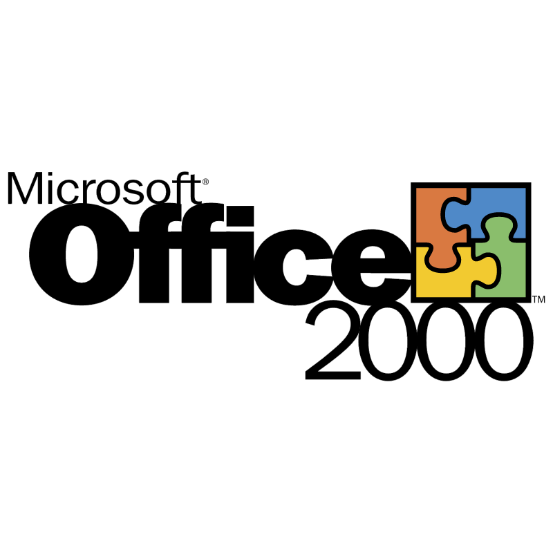 Microsoft Office 2000 vector