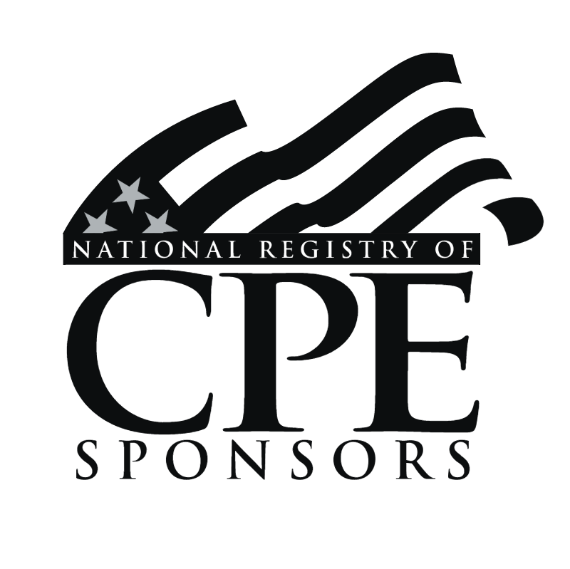 National Registry of CPE Sponsors vector