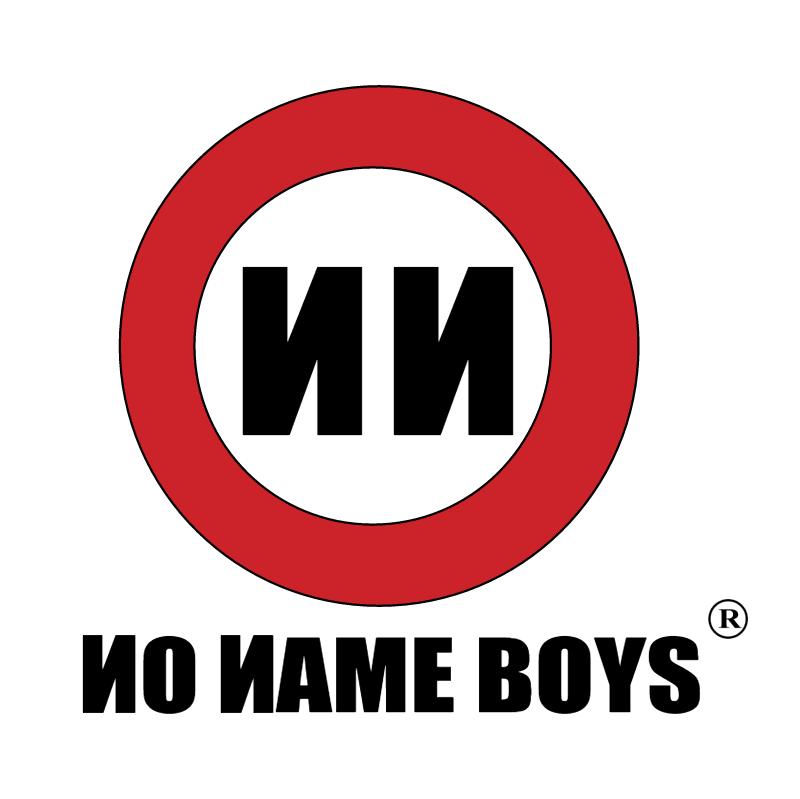 No Name Boys vector