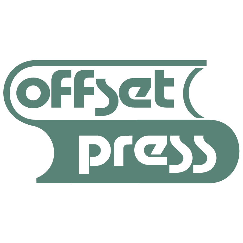 Offset Press vector