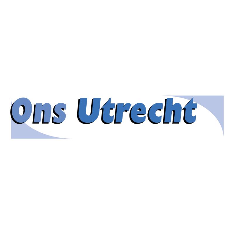 Ons Utrecht vector