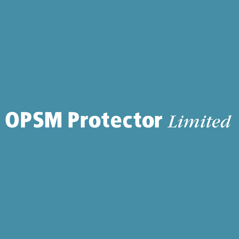 OPSM Protector Limited vector