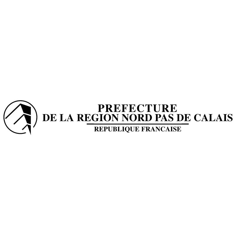 Prefecture de la region nord Pas de Calais vector