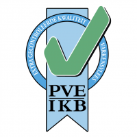 PVE IKB keurmerk vector