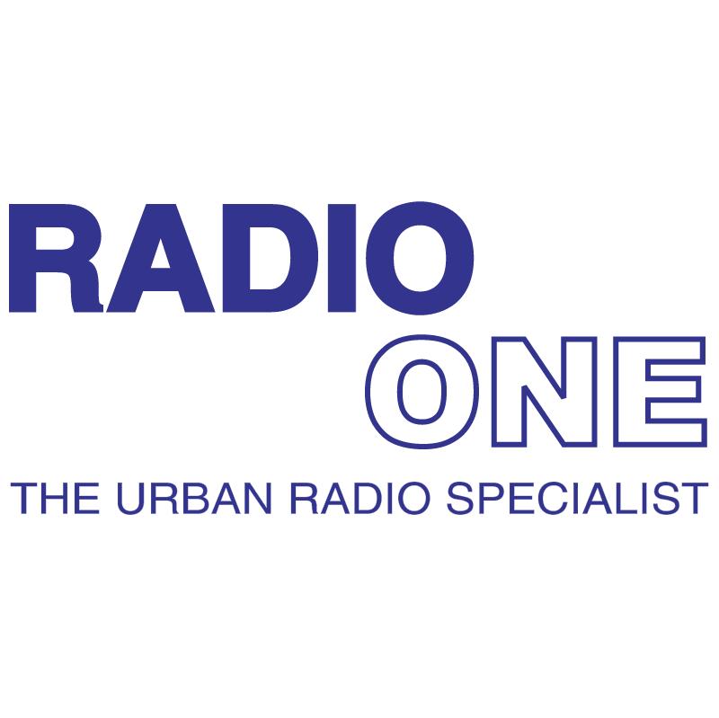 Radio One vector