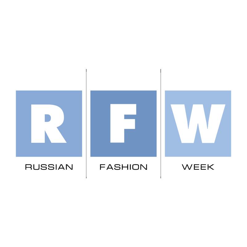 Russian Fashion Week vector