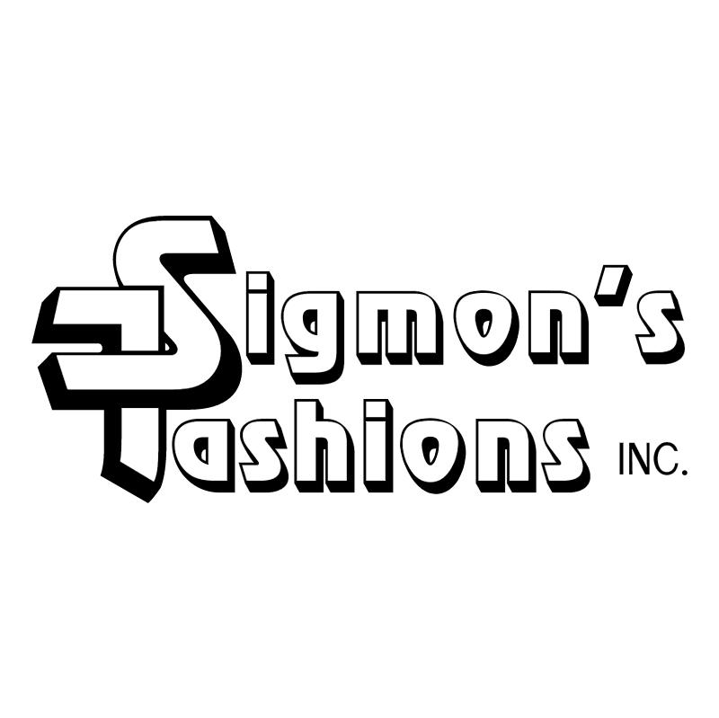 Sigmon's Fashions vector logo