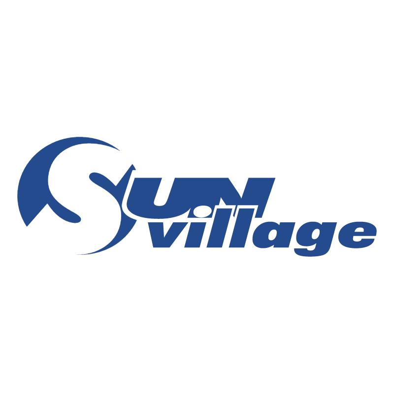 Sun Village vector