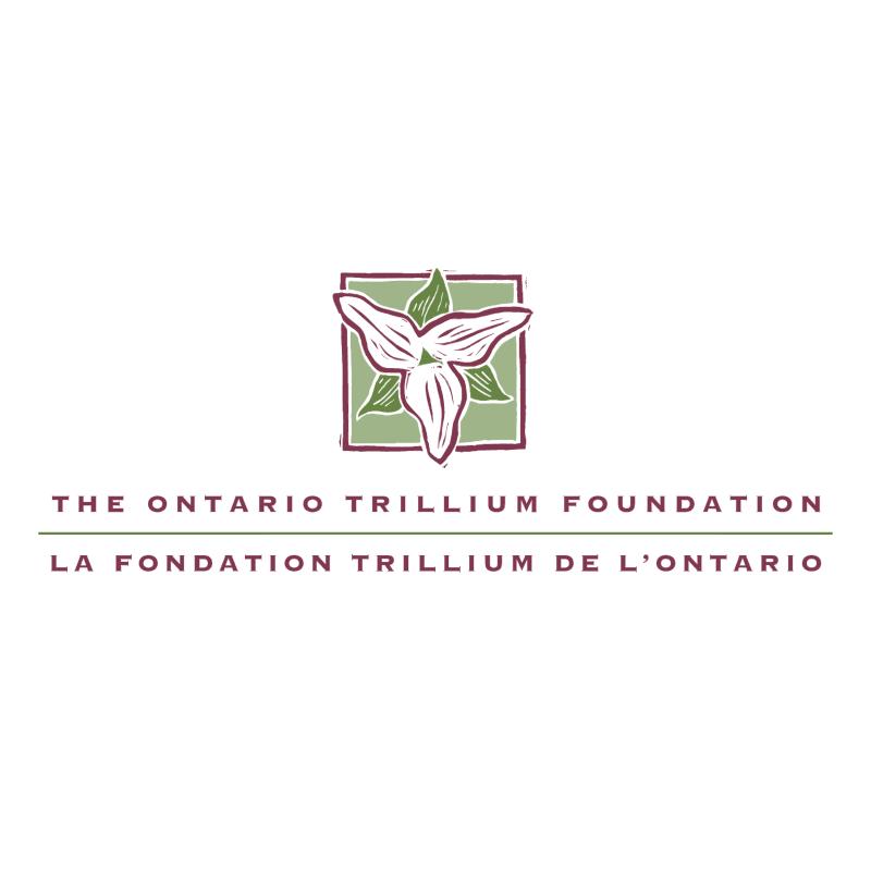 The Ontario Trillium Foundation vector